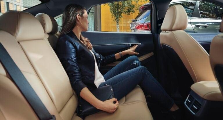 Hyundai Sonata Back Seat