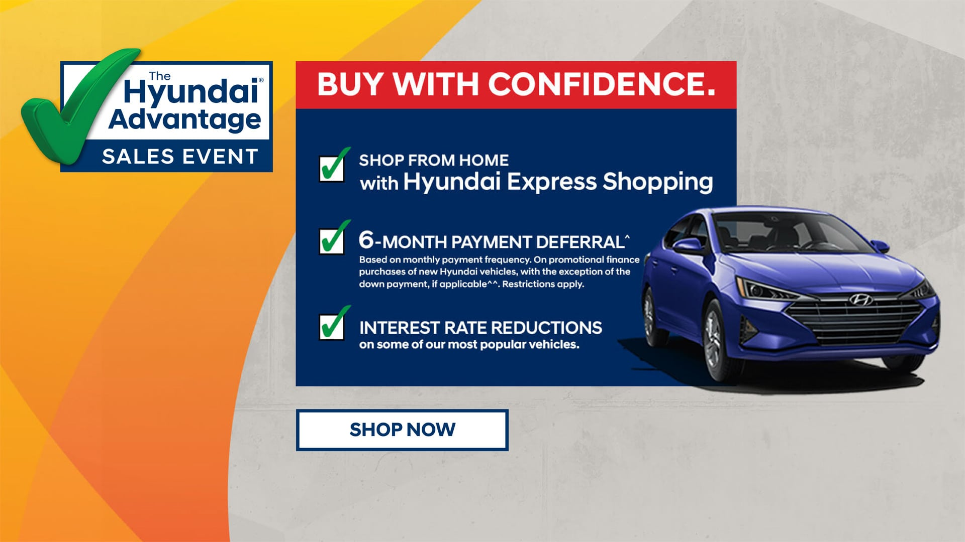 Hyundai Advantage - Buy With Confidence Offer