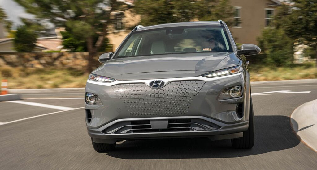 2020 Kona Electric in Winnipeg, MB front grille